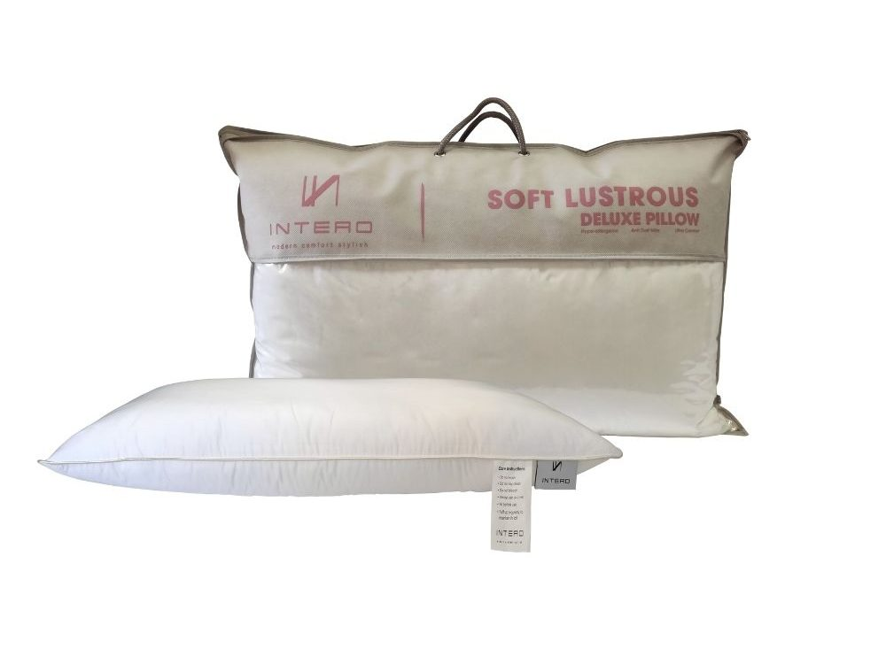 Intero Soft Lustrous Pillow (BUY 1 Get 1 Free)