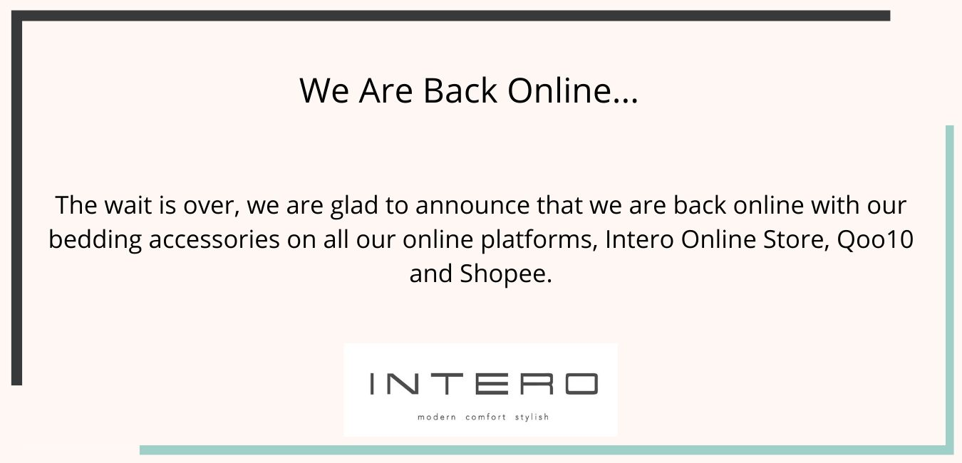 We are Back online