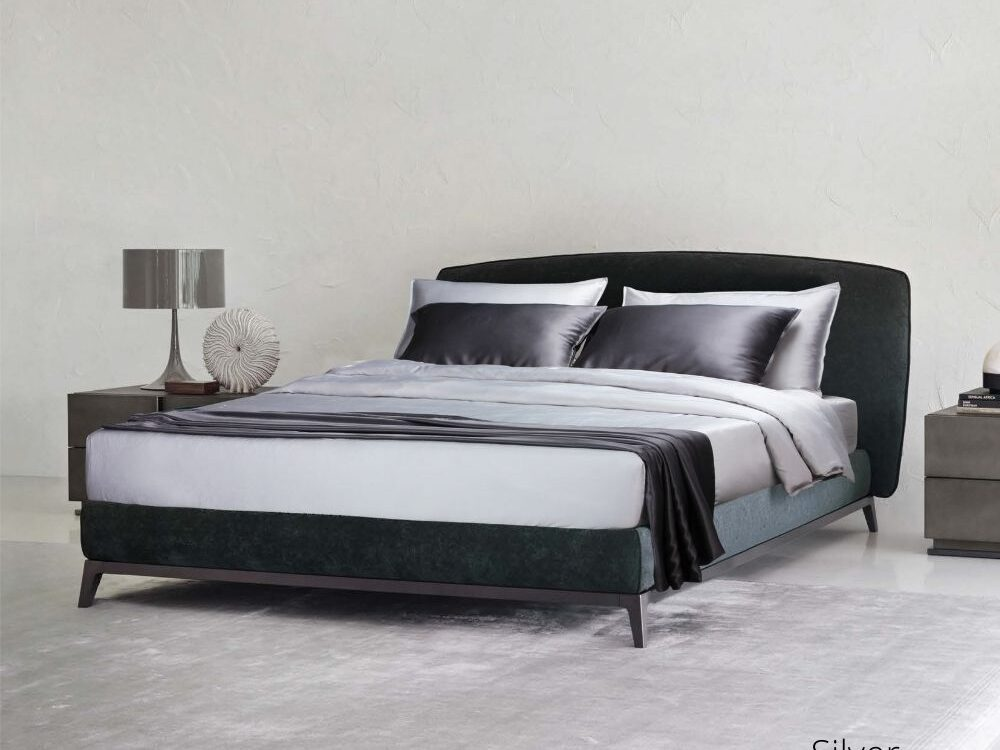 Intero Bamboopro Solid Bed Set Silver