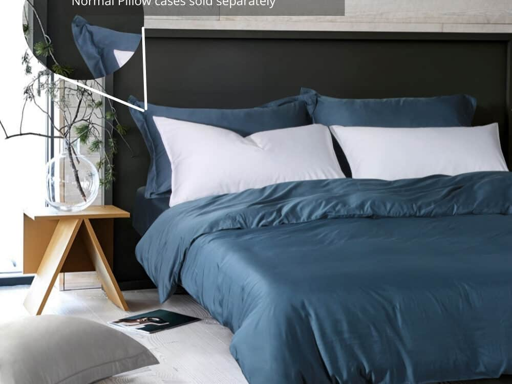 Intero Beyond Aesthetic Bamboopro Solid GRACE Bed Set Coral