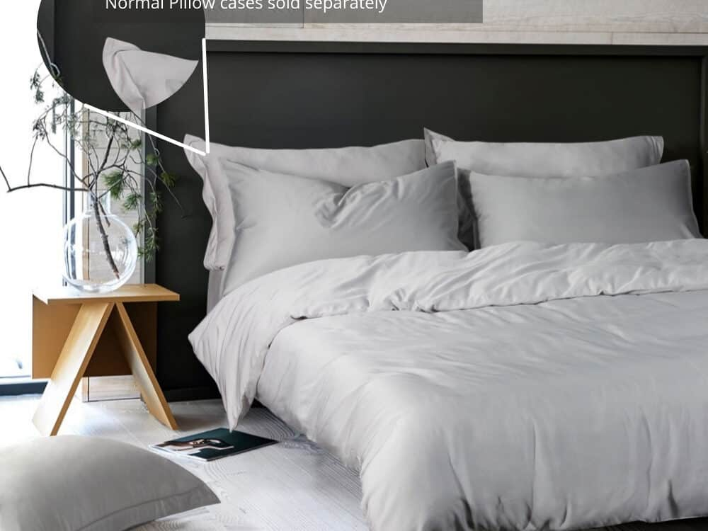 Intero Beyond Aesthetic Bamboopro Solid GRACE Bed Set Silver