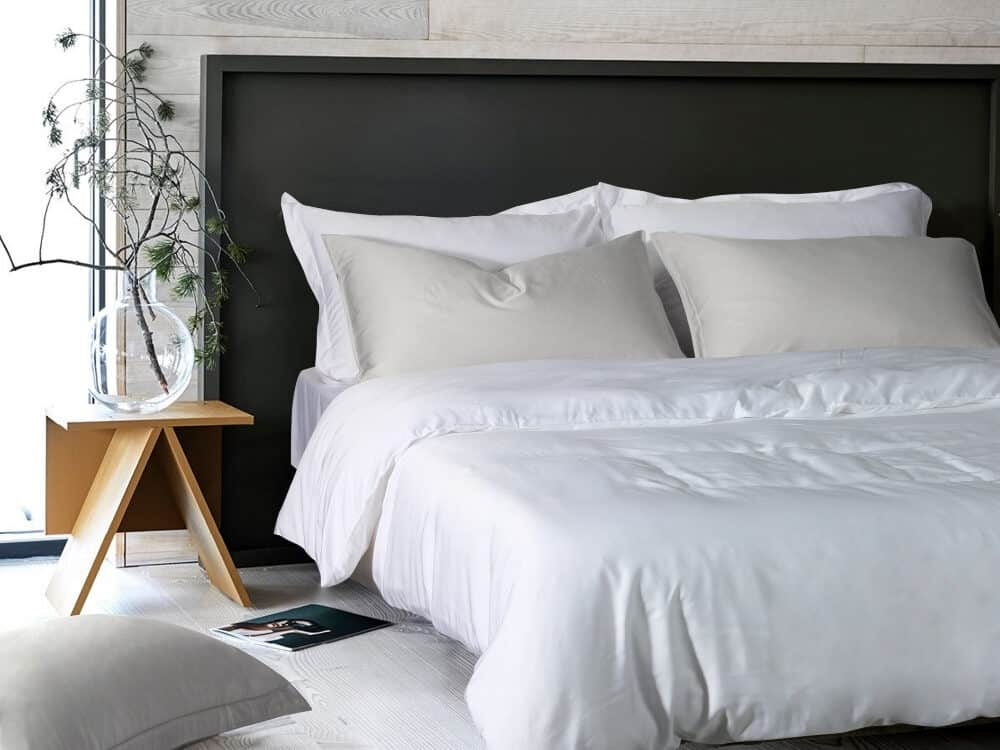 Intero Beyond Aesthetic Bamboopro Solid GRACE Bed Set White
