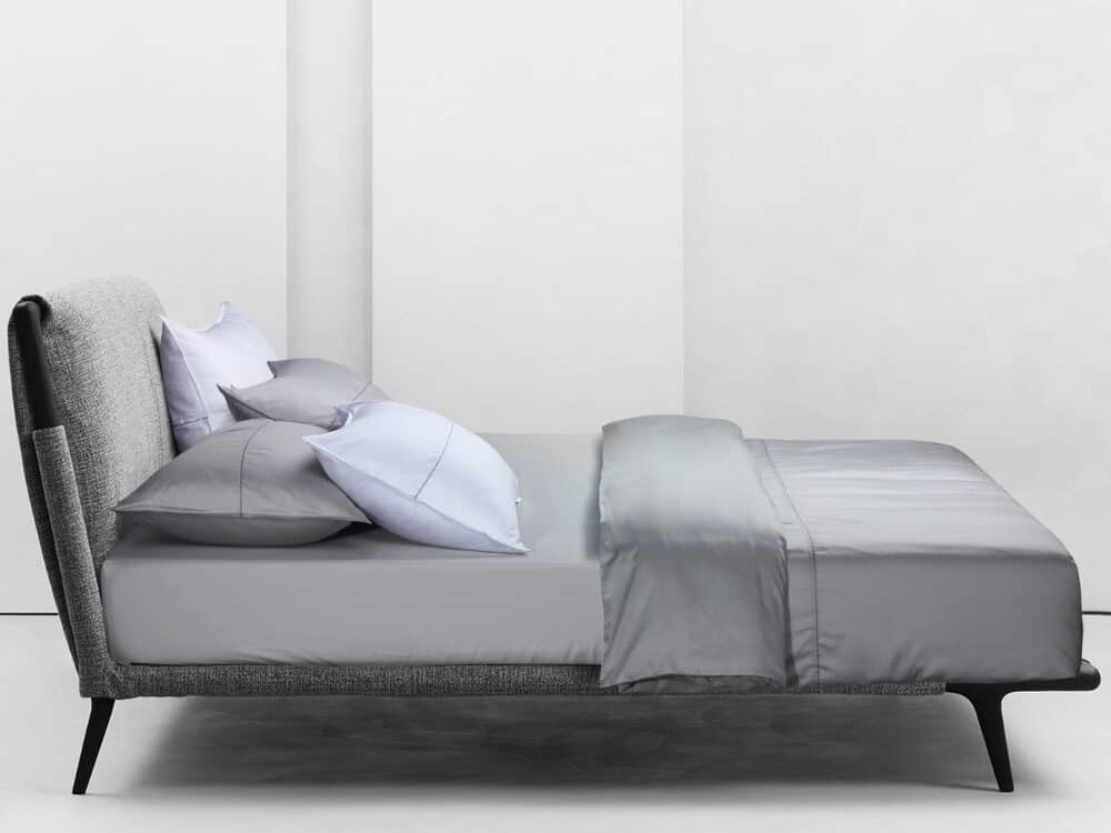 Bellami Trinity Puzzle 100% Egyptian Cotton 980 Thread Count Bed Set Colour Silver