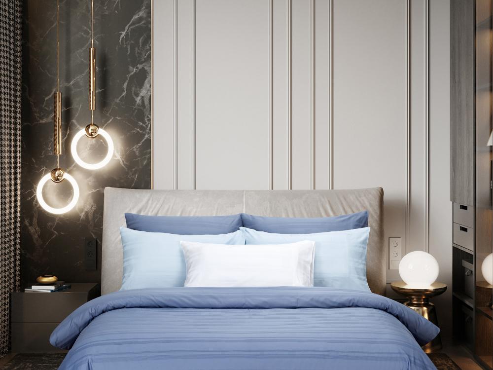 Marie Claire Morpheus Bed Set Colour: Infinity