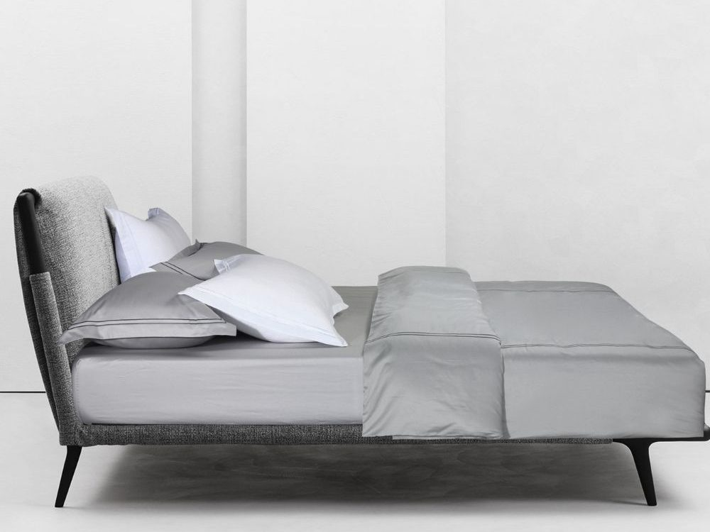 Bellami Trinity Minuscule 100% Egyptian Cotton 980 Thread Count Bed Set Colour: Silver